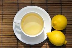 Té del limón Imagenes de archivo