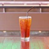 Té del limón del hielo Fotografía de archivo