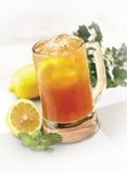 Té del limón del hielo foto de archivo