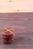 Té, eclairs y canela Foto de archivo libre de regalías