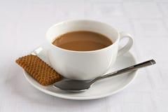 Té y galleta Fotos de archivo