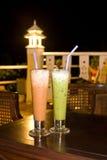 Té helado, té verde Foto de archivo