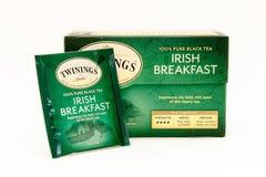 Té irlandés del desayuno Fotos de archivo libres de regalías