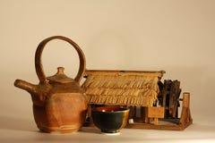 Té japonés Imágenes de archivo libres de regalías