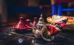 Té marroquí Imágenes de archivo libres de regalías