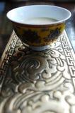 Té tibetano de la mantequilla Foto de archivo