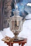 Té tradicional ruso Imagen de archivo libre de regalías