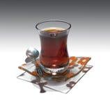 Té turco Fotos de archivo libres de regalías