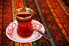Té turco Imágenes de archivo libres de regalías