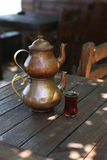Té turco Fotos de archivo