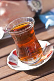 Té turco típico Foto de archivo