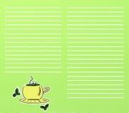 Té verde ilustración del vector