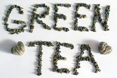 Té verde Foto de archivo libre de regalías