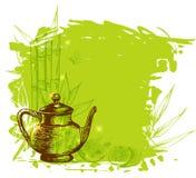 Té verde de la fruta Imagen de archivo