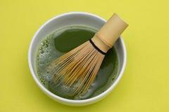Té verde de Matcha Imagen de archivo