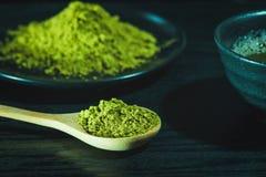 Té verde de Matcha Foto de archivo