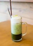Té verde del hielo imagen de archivo