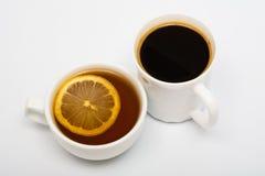 Té y café Imagen de archivo libre de regalías