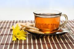 Té y galleta Foto de archivo libre de regalías