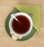 Té y galletas Imagen de archivo