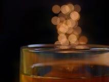Té y luces Fotografía de archivo libre de regalías