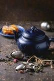 Té y miel Fotografía de archivo