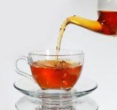 Té y taza de té Imágenes de archivo libres de regalías