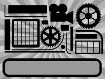 Técnica abstrata Imagem de Stock