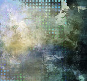 Técnicas mixtas abstractas Fotografía de archivo libre de regalías