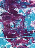 Técnicas mixtas abstractas fondo o textura Foto de archivo