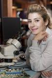 Técnico de laboratorio Imágenes de archivo libres de regalías