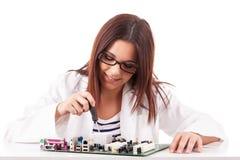 Técnico do computador Fotos de Stock