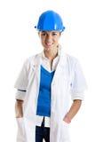 Técnico fêmea Foto de Stock