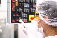 Técnico farmacéutico Fotos de archivo