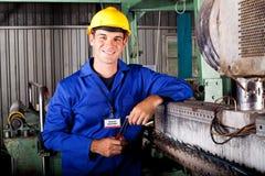 Técnico mecánico industrial Imagen de archivo libre de regalías