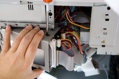 Técnicos de reparación Imágenes de archivo libres de regalías