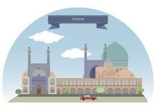 Téhéran, Iran illustration stock