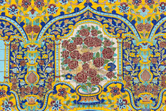 TÉHÉRAN, IRAN - 5 OCTOBRE 2016 : Extérieurs de palais de Golestan Images libres de droits