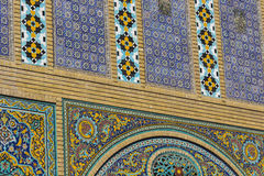 TÉHÉRAN, IRAN - 5 OCTOBRE 2016 : Extérieurs de palais de Golestan Image stock