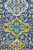 TÉHÉRAN, IRAN - 5 OCTOBRE 2016 : Extérieurs de palais de Golestan Photo stock