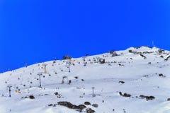 Télé- bleu de Mt de dos de galopin de SM Photos libres de droits