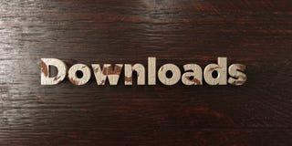Téléchargements - titre en bois sale sur l'érable - image courante gratuite de redevance rendue par 3D Image libre de droits