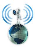 Télécommunication Illustration Stock