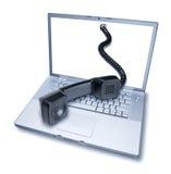 Télécommunication d'ordinateur photographie stock libre de droits