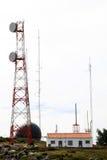 Télécommunication et radar, Foia, Portugal Images stock