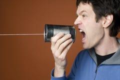Télécommunications avancées photographie stock libre de droits