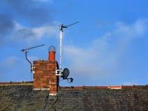 Télécommunications domestiques Photo libre de droits
