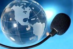 Télécommunications mondiales photo libre de droits
