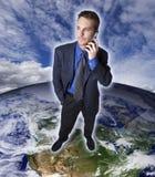 Télécommunications mondiales Images stock
