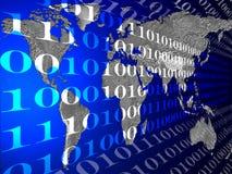 Télécommunications mondiales Photographie stock libre de droits